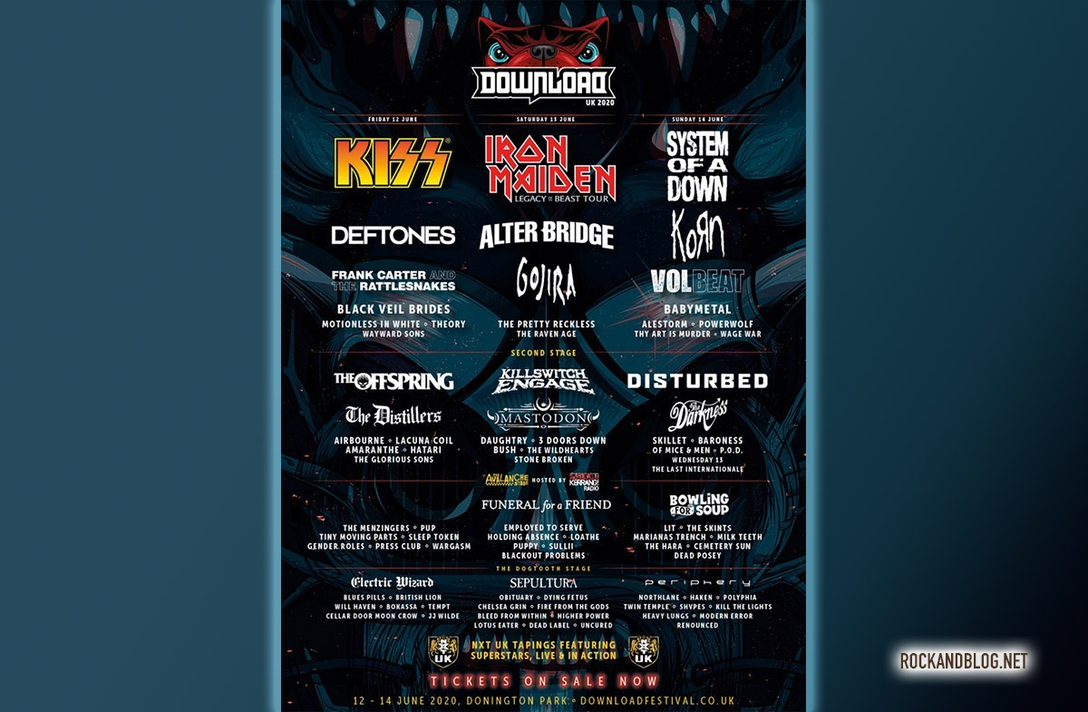 Download Festival Uk Adds 40 New Artists To 2020 Edition